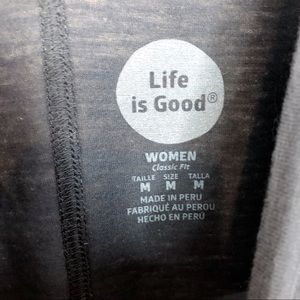 Life Is Good Tops - Life is Good Be The Change Long Sleeve V Neck T